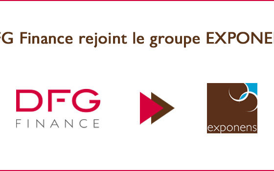 DFG Finance rejoint le groupe Exponens